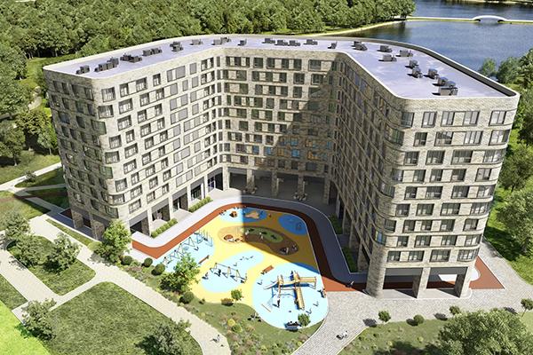 Апарт-комплекс на берегу Головинских прудов