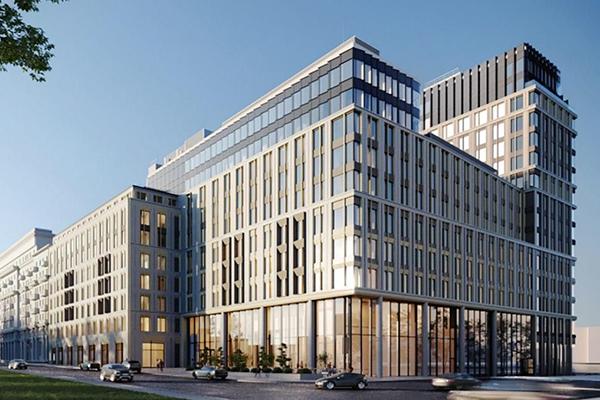 Aпарт-комплекс SLAVA в районе Беговой САО Москвы