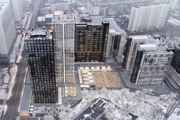 Апарт-комплекс в р-не Нагатино-Садовники ЮАО Москвы