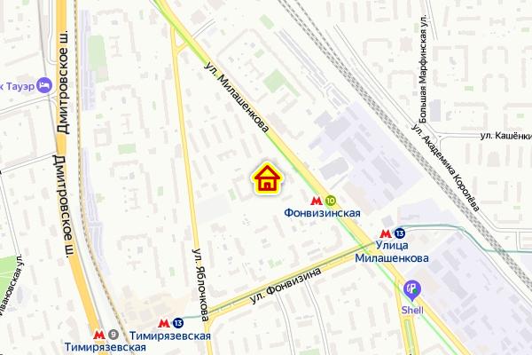 Дом по реновации построят в в Бутырском р-не