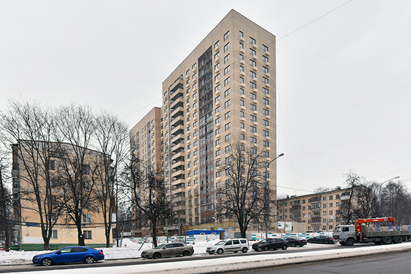 Дом по реновации в р-не Царицыно ЮАО Москвы