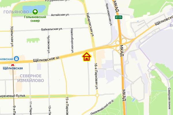 Дом по реновации у Щелковского шоссе