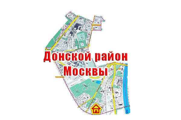 Дом по реновации в Донском районе на карте