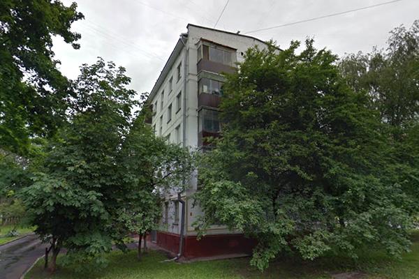 Пятиэтажка под снос на ул.Новочеремушкинская, вл.27