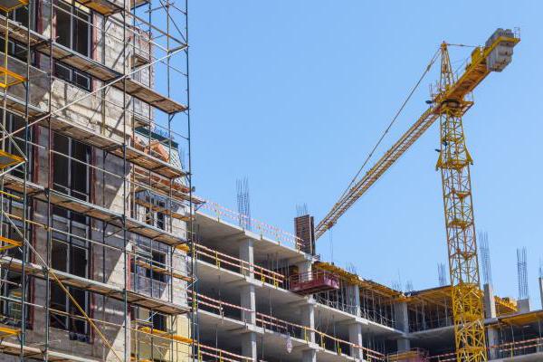 Кран и строительство монолитного дома