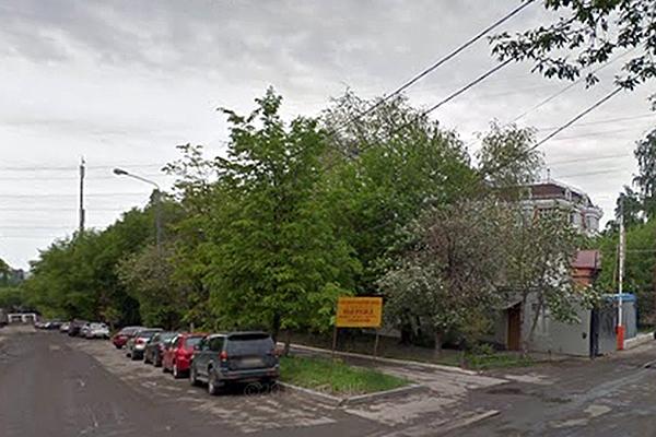 Место жилого квартала в районе Хорошево-Мневники