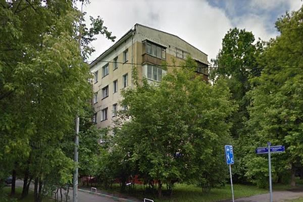 Пятиэтажка на улице Олеко Дундича