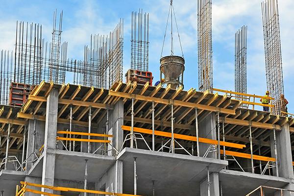 Строительство монолитного здания