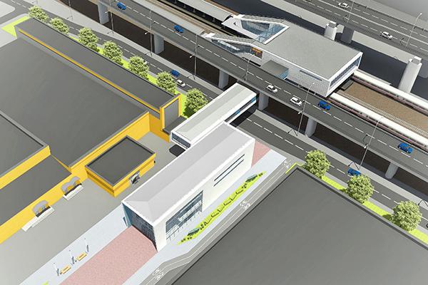 Визуализация  ТПУ «Открытое шоссе» в ВАО Москвы