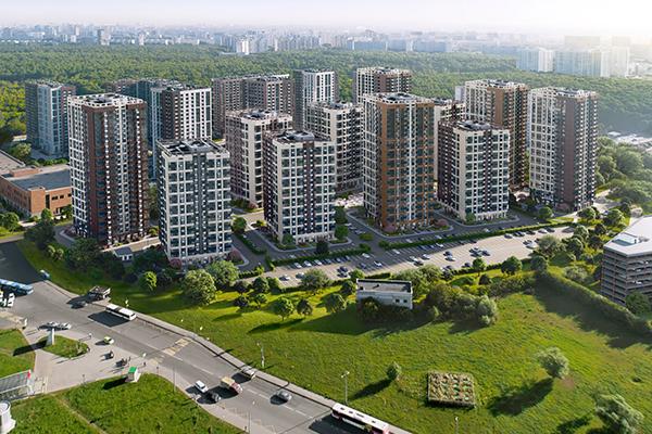 ЖК «Зеленая Вертикаль» на юге Москвы