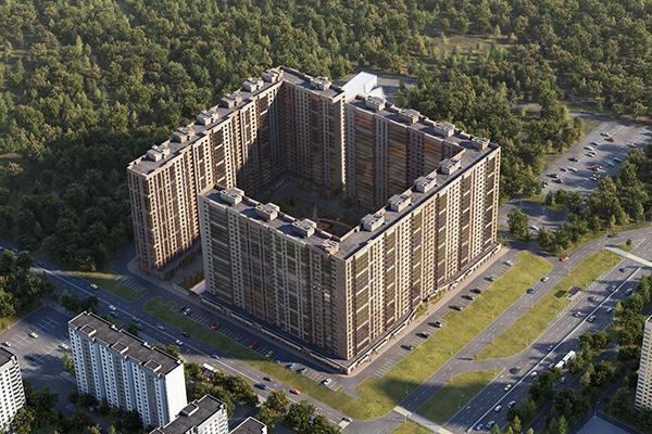 ЖК FoRest в районе Ново-Переделкино ЗАО Москвы