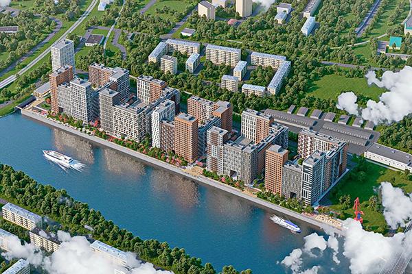 ЖК «Западный порт» на западе Москвы